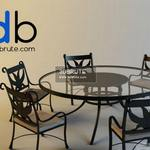 45 Table and chair