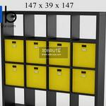 147 Office furniture 3dmodel