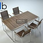 128 Table and chair