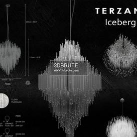 Terzani Iceberg Ceiling light