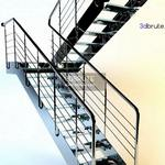 26. Staircase 3dmodel