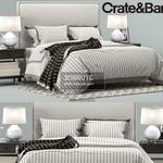 Crate & Barrel bed  561