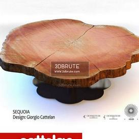 Cattelan sequoia table
