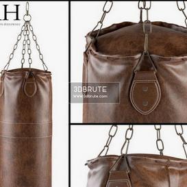 Restoration Hardware punching bag