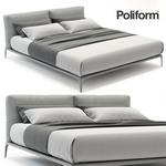 poliform park  bed  195