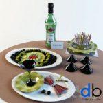 27 Tableware 3dmodel