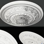 252 Decorative plaster  3dmodel