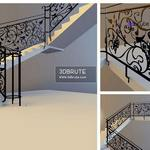 36. Staircase 3dmodel