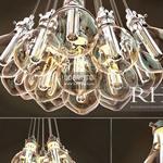 RH TEARDROP GLASS FILAMENT Ceiling light 892