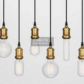 ElectroRetro Bulps Ceiling light