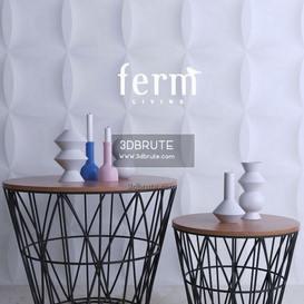 ferm living baskets table