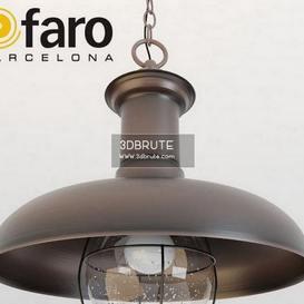 ESTORIL-G Rust pendant Ceiling light