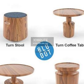 Blu dot   Turn collection table