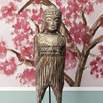 Albesia Wood Buddha Decoration 1 22