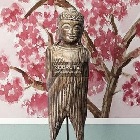 Albesia Wood Buddha Decoration 1