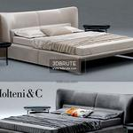 Glove Molteni & C bed