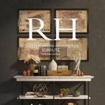RH decor console  184