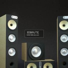 Speaker - 3dbrute -Download free -3d Model furniture
