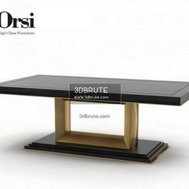 Orsi Bronze Dining   III table
