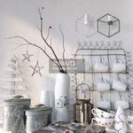 220. Decorative set 3dmodel
