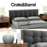 Crate & Barrel bed  242