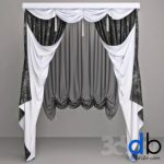 381. Curtain 3dmodel  pro