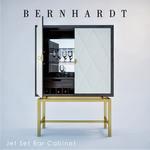 Bernhardt Jet Set Bar Cabinet  205