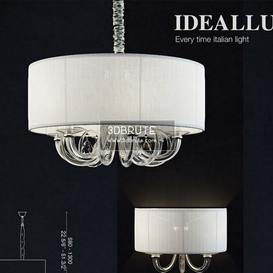 ideal lux swan 01 Ceiling light
