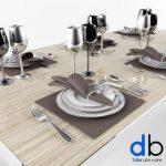 134 Tableware 3dmodel