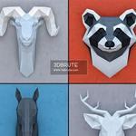 Paper animal heads 2 () 55