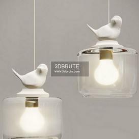 Bird pend Ceiling light