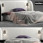 Rochobobois bed 3dsmax