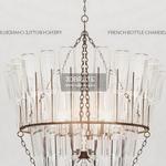 PB FRENCH BOTTLE CHANDELIER Ceiling light 1022