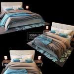 Mishe Bed 3dsmax
