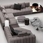 Minotti Sofa 3dmodel