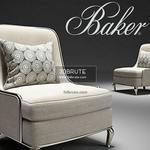 BAKER EMPRESS No. 6709C Armchair 3dmodel 571