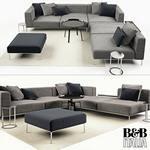B&B italia  Sofa 3dmodel
