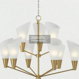 Currey&Company Cornet Chandelier Ceiling light