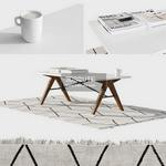 scandinavian coffe table 628