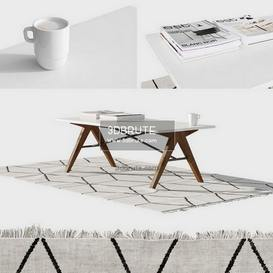 scandinavian coffe table