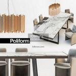 363. Poliform Table and chair