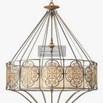 Murray Feiss Marcella 4 Light Uplight Chandelier Ceiling light 1067