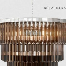 THREE TIER DRUM CHANDELIER crystal corona Ceiling light