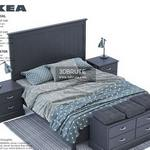Ikea Undredal set Bed 3dmodel