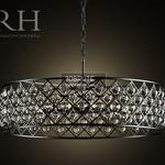 RH SPENCER HOOP CHANDELIER 80 Ceiling light 1086