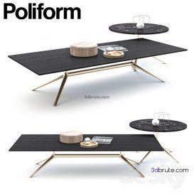 POLIFORM MONDRIAN coffee table   2014