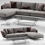 Arketipo morrison sofa