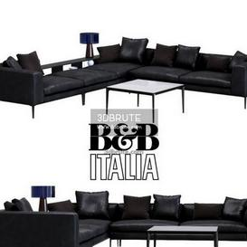 372 B Amp B Italya Sofa Download 3d Models Free 3dbrute