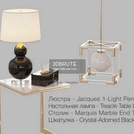 HORCHOW decorative set 2014 + Corona table