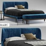 Molteni & C fulham  Bed 3dmodel